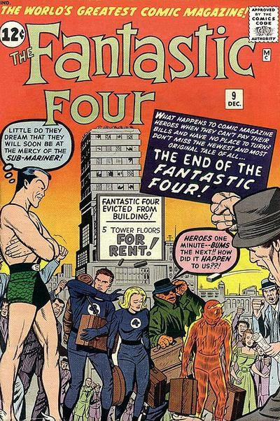 Image result for fantastic four 9 cover