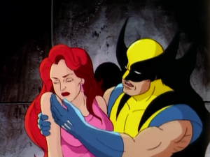 Captive Hearts - Jean and Wolverine