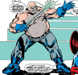 Bulwark (Berditchev Agent) (Earth-616) from Avengers Vol 1 340 0001