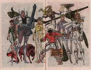 New Mutants Annual Vol 1 6 Pinup 1