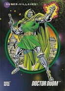 Victor von Doom (Earth-616) from Marvel Universe Cards Series III 0001