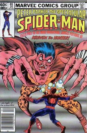 Peter Parker, The Spectacular Spider-Man Vol 1 65