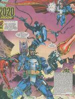 Avengers (Earth-9939) from Death's Head II Vol 1 4 0001