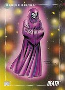 Death (Earth-616) from Marvel Universe Cards Series III 0001