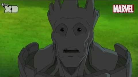 Guardians of The Galaxy Groot Part 2 Official Disney XD UK