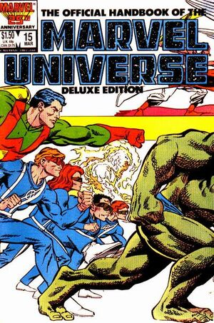 Official Handbook of the Marvel Universe Vol 2 15