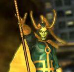 Loki Laufeyson (Skrull) (Earth-TRN219) from Marvel Avengers Battle for Earth 0001