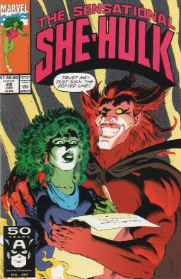 Sensational She-Hulk Vol 1 28