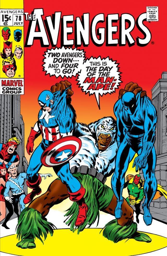 Avengers Vol 1 78