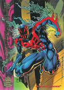 Miguel O'Hara (Earth-928) from Marvel Universe Trading Cards 1994 Set 0001