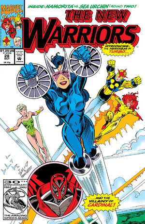 New Warriors Vol 1 28