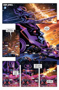 Galactus (Earth-616) and Gah Lak Tus (Earth-1610) from Hunger Vol 1 3 001