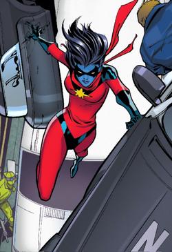 Minn-Erva (Earth-616) from Amazing Spider-Man Vol 3 7 0001