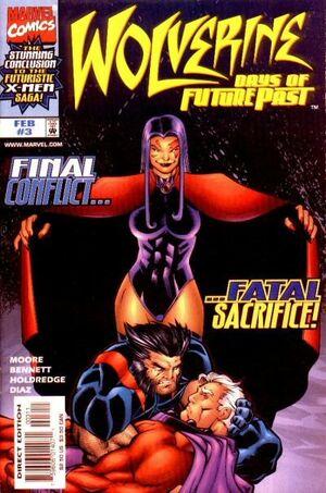 Wolverine Days of Future Past Vol 1 3