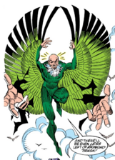 Vulture's Wings from Amazing Spider-Man Vol 1 336 001