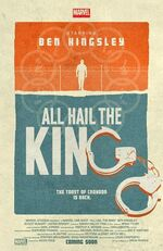 Marvel One-Shot All Hail the King poster