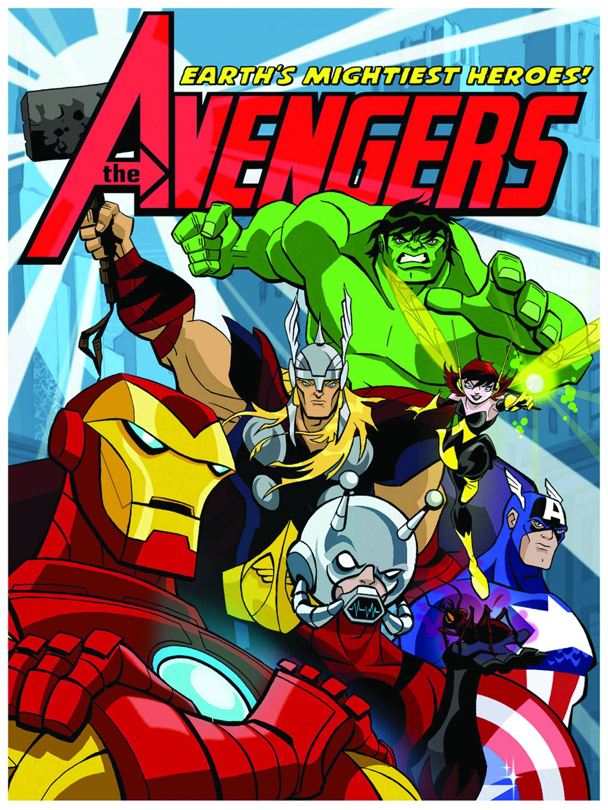 Avengers earth 39 s mightiest heroes animated series marvel database fandom powered by wikia - Heros avengers ...