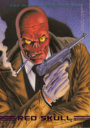Johann Shmidt (Earth-616) from Marvel Masterpieces Trading Cards 1993 Set 0001