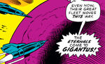 Gigantus (Planet) from Fantastic Four Vol 1 115