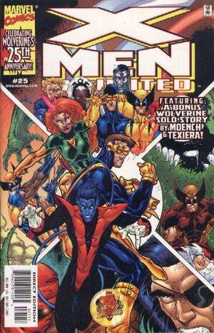 X-Men Unlimited Vol 1 25