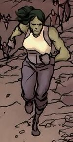 Jennifer Walters (Earth-98570) from Fantastic Four Vol 1 605.1 page --