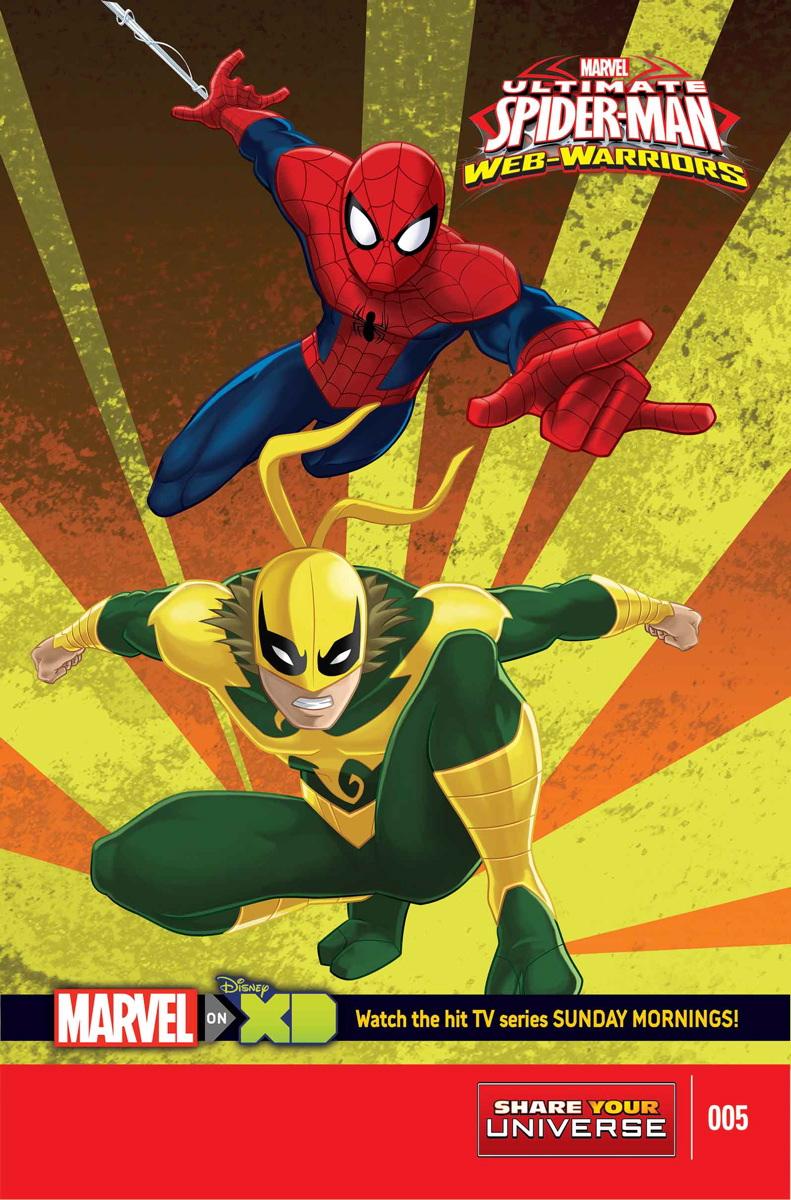 marvel universe ultimate spiderman web warriors vol 1 5