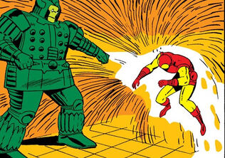 Anthony Stark (Earth-616) Iron Man vs Titanium Man from Tales of Suspense Vol 1 69