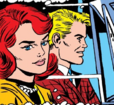 Jean Grey and Warren Worthington III (Earth-616) from X-Men Vol 1 22 0001