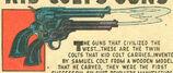 Kid Colt's Guns