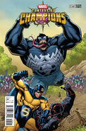Contest of Champions Vol 1 5 Lim Connecting Variant E