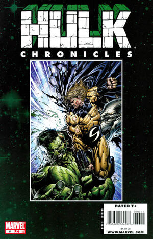 Hulk Chronicles WWH Vol 1 6