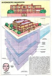 Avengers Mansion from Official Handbook of the Marvel Universe Vol 2 1 001