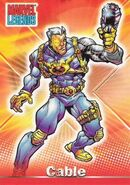 Nathan Summers (Earth-616) from Marvel Legends (Trading Cards) 0001