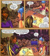 Xavin (Earth-616) and Molly Hayes (Earth-616) from Runaways Vol 2 19 001
