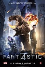 Fantastic Four (2015 film) poster 007