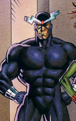 Alexander Summers (Earth-597) from Excalibur Weird War III Vol 1 1 0001
