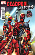 Deadpool Corps Vol 1 1 Variant