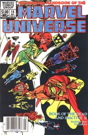 Official Handbook of the Marvel Universe Vol 1 14