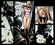 Dark Reign The List - Avengers Vol 1 1 page - Clinton Barton & Karla Sofen (Earth-616)