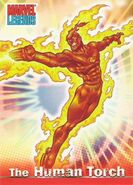 Jonathan Storm (Earth-616) from Marvel Legends (Trading Cards) 0001