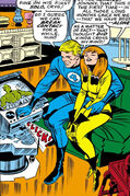 Crystalia Amaquelin (Earth-616) and the Human Torch from Fantastic Four Vol 1 64