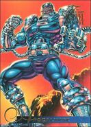 En Sabah Nur (Earth-616) from Marvel Annual Flair Trading Cards 1995 0001