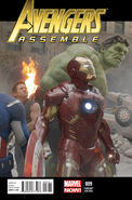 Avengers Assemble Vol 2 9 Movie Variant