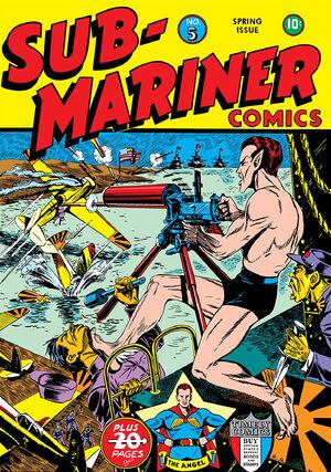 Sub-Mariner Comics Vol 1 5