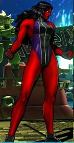 Jennifer Walters (Earth-30847) from Marvel vs. Capcom 3 Fate of Two Worlds 0001