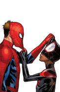 Spider-Men Vol 1 2 Pichelli Variant Textless