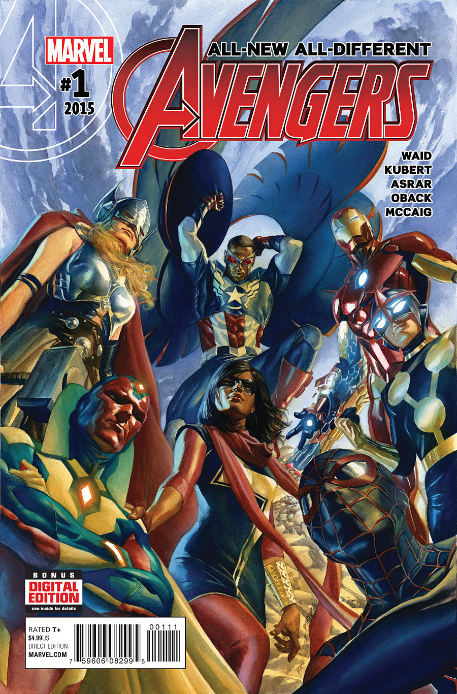 All New All Different Avengers Vol 1 2: All-New, All-Different Avengers Vol 1 1