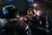 Anthony Stark (Earth-199999) vs. Obadiah Stane (Earth-199999) from Iron Man (film) 005