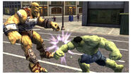 Bi-Beast and Bruce Banner (Earth-199999) from The Incredible Hulk (2008 video game) 0001