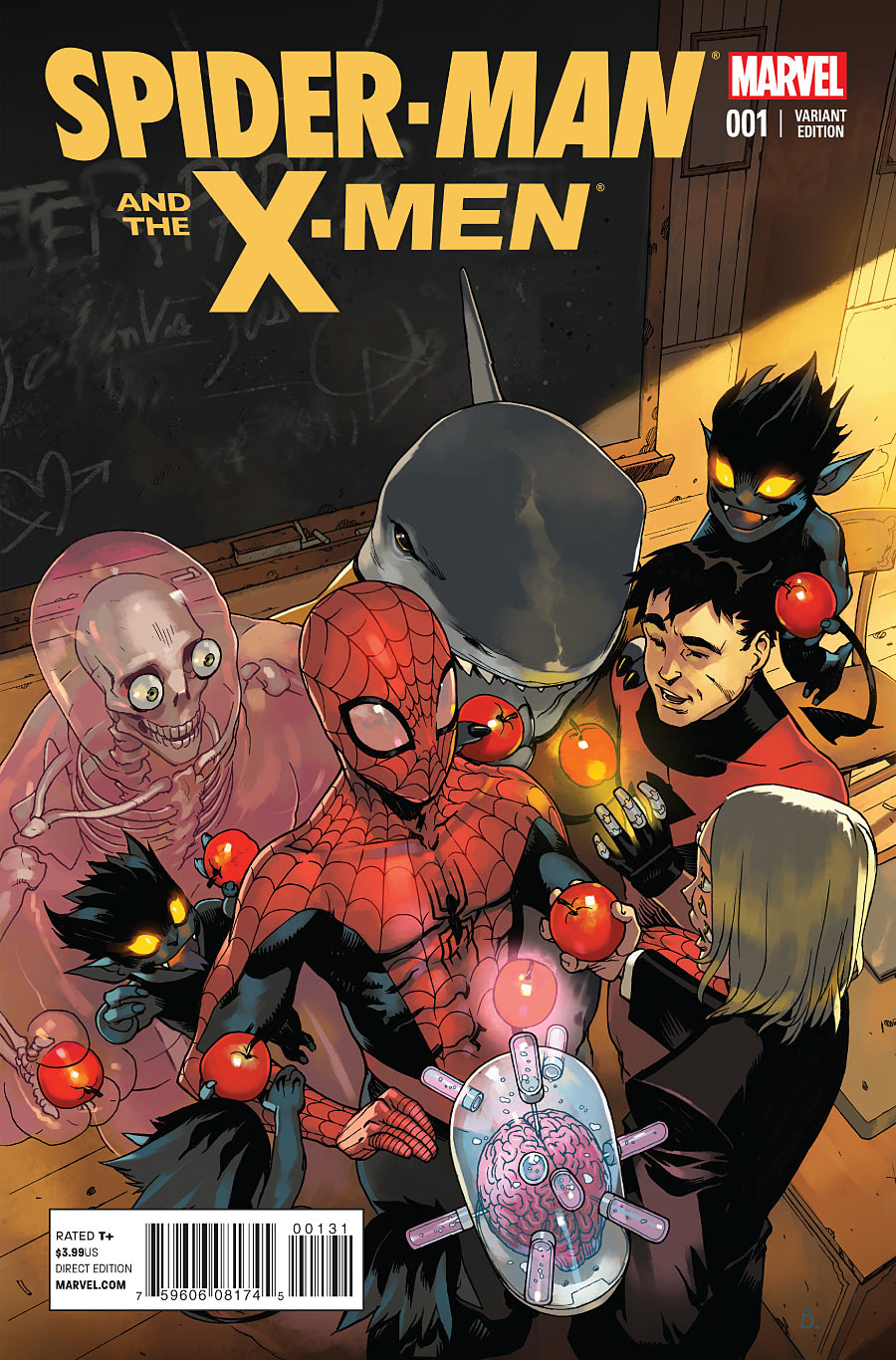 Backlog Blast: Spider-man and the X-Men #1-4